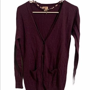 Mossimo supply company cardigan sweater